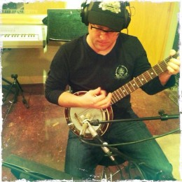 In the studio for release #8